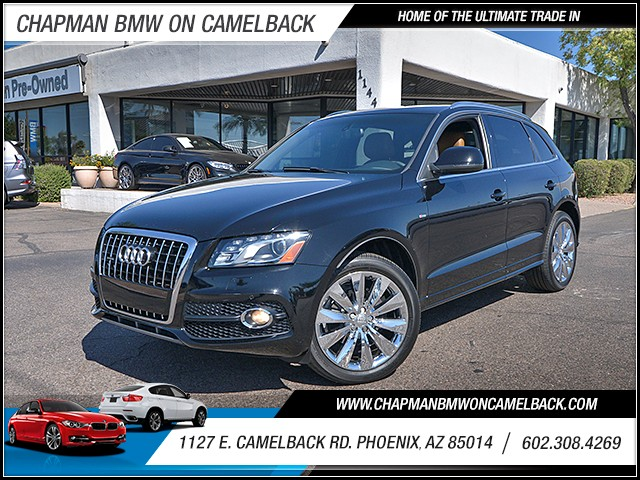 2010 Audi Q5 32 quattro Prestige 79095 miles Wireless data link Bluetooth Real time traffic Cr