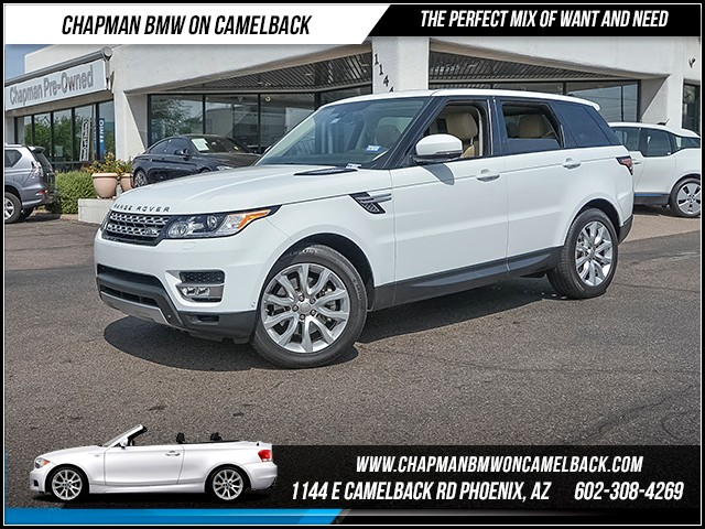 2014 Land Rover Range Rover Sport HSE 20220 miles Wireless data link Bluetooth Phone pre-wired f