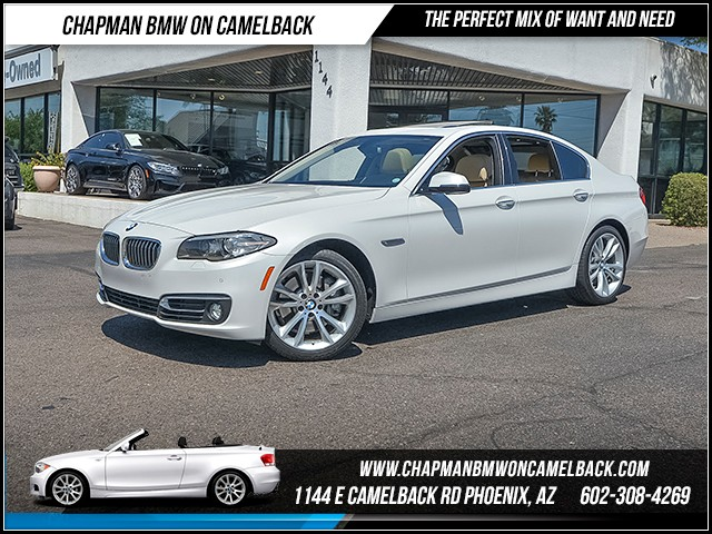 2014 BMW 5-Series 535i 36903 miles Luxury Line Premium Package Driver Assistance Package Cold
