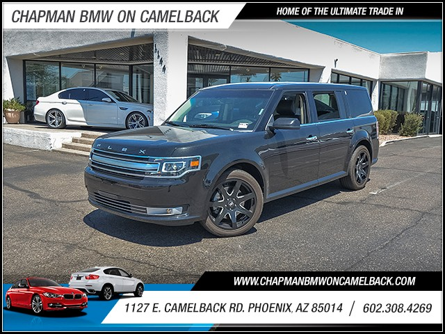 2015 Ford Flex Limited 24369 miles Satellite communications voice guided directions Wireless dat