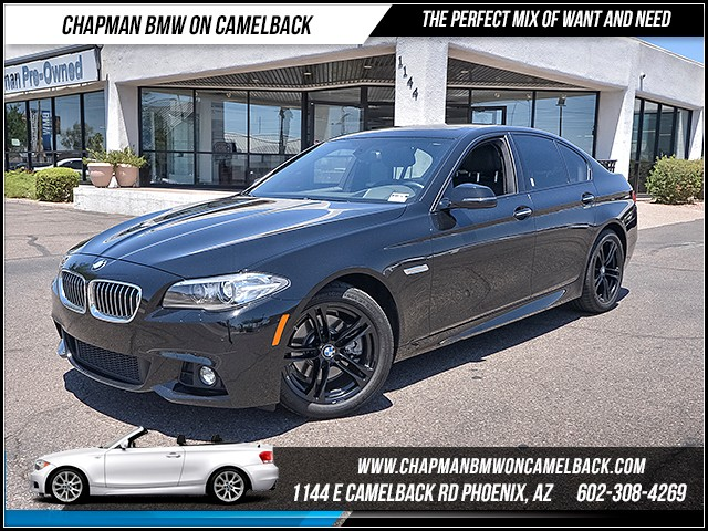 2014 BMW 5-Series 528i 35122 miles M Sport Driving Assistance Package Premium Package Driver a