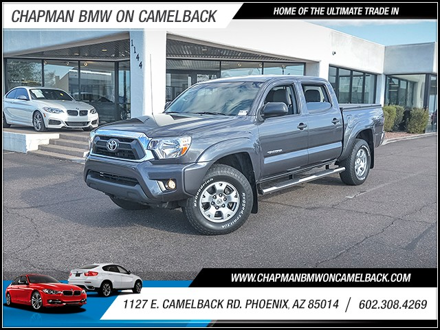 2012 Toyota Tacoma PreRunner Crew Cab 41694 miles Wireless data link Bluetooth Phone hands free