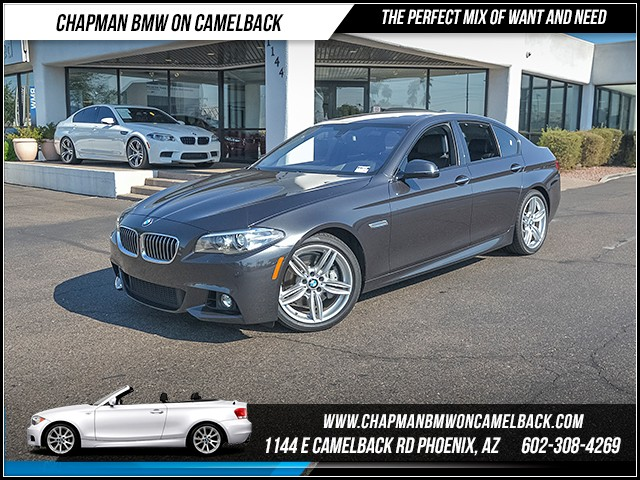 2015 BMW 5-Series 535i 22187 miles M Sport Package Premium Package Driving Assistance Package