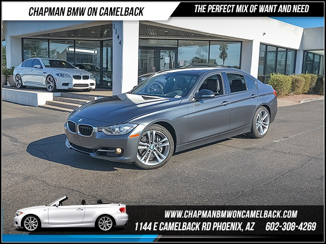 2014 BMW 3-Series Sdn 335i 22253 miles Sport Line Premium Package Technology Package Heated fr