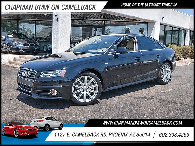 2012 Audi A4 20T Premium Plus 58692 miles Wireless data link Bluetooth Anti-theft system engin