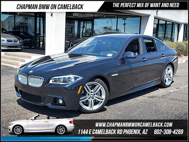 2014 BMW 5-Series 550i 23980 miles 6023852286 - 12th St and Camelback Chapman BMW on Camelback