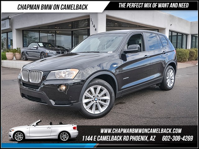 2014 BMW X3 xDrive28i 36071 miles Phone hands free Wireless data link Bluetooth Satellite commu