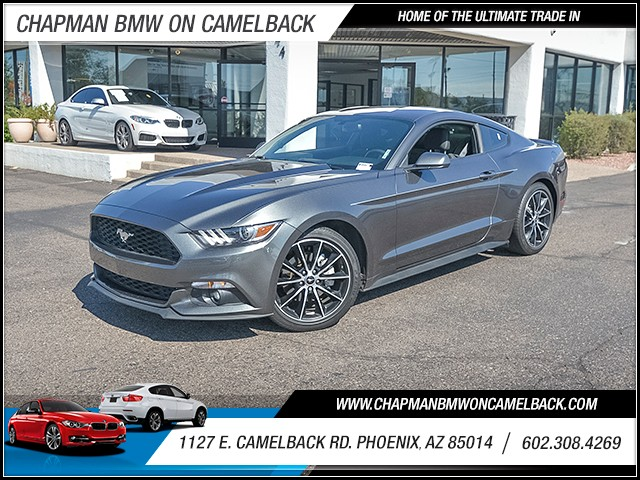 2015 Ford Mustang EcoBoost 22937 miles Phone voice operated Wireless data link Bluetooth Phone