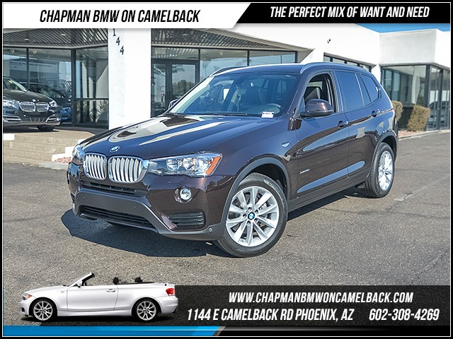 2015 BMW X3 xDrive28i 8510 miles 6023852286 Chapman BMW on Camelback CPO Sales Event Over