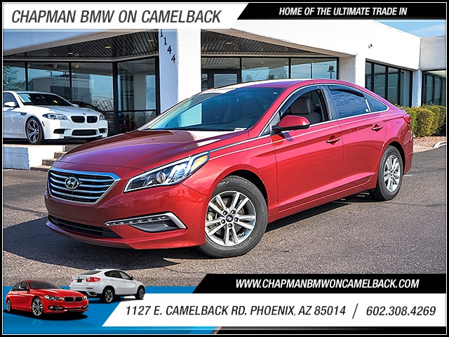 2015 Hyundai Sonata SE 49189 miles Wireless data link Bluetooth Cruise control 2-stage unlockin