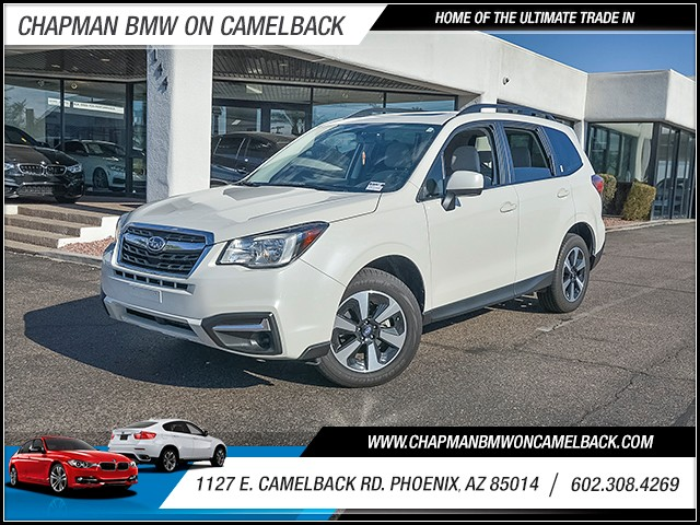 2017 Subaru Forester 25i Premium 14803 miles Wireless data link Bluetooth Phone voice operated