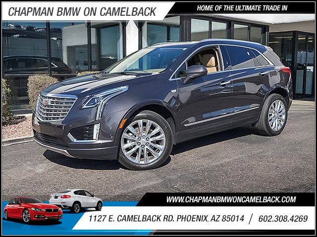 2017 Cadillac XT5 Platinum 7903 miles Chapman Value Center on Camelback is specializing in late m