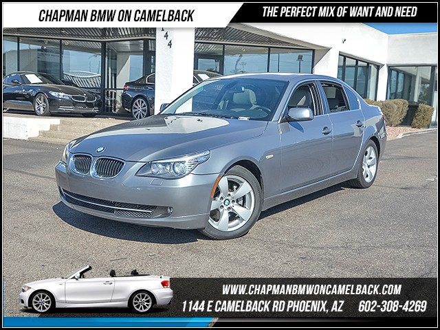 2008 BMW 5-Series 528i 76721 miles Premium Package Rear sunshades Comfort Access keyless entry