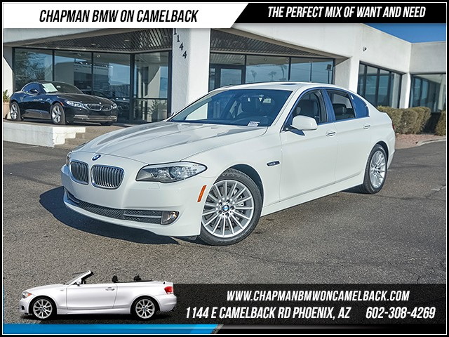 2013 BMW 5-Series 535i 44507 miles 6023852286 Chapman BMW on Camelback CPO Sales Event Ov