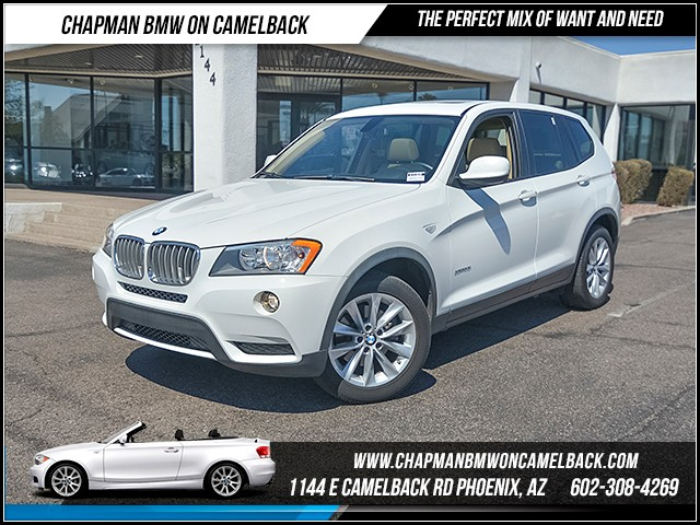2013 BMW X3 xDrive28i 58315 miles 6023852286 Chapman BMW on Camelback CPO Sales Event Ove