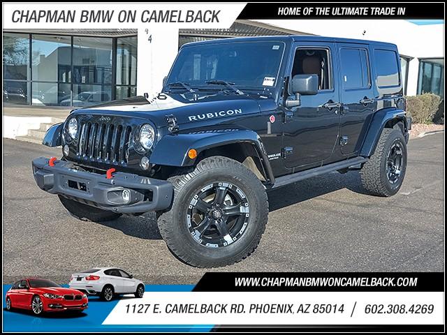 2014 Jeep Wrangler Unlimited Rubicon 39576 miles 6023852286 1127 E Camelback Rd Summer Monsoo