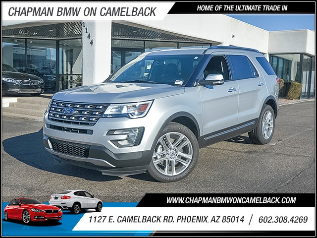 2017 Ford Explorer Limited 11494 miles Chapman Value Center on Camelback is specializing in late
