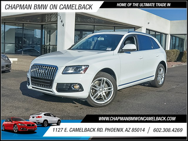 2014 Audi Q5 20T quattro Prem Plus 21070 miles Chapman Value Center on Camelback is specializing