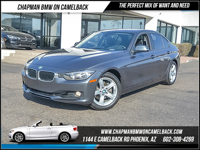 2014 BMW 3-Series Sdn 328i 26787 miles Wireless data link Bluetooth Phone hands free Cruise con