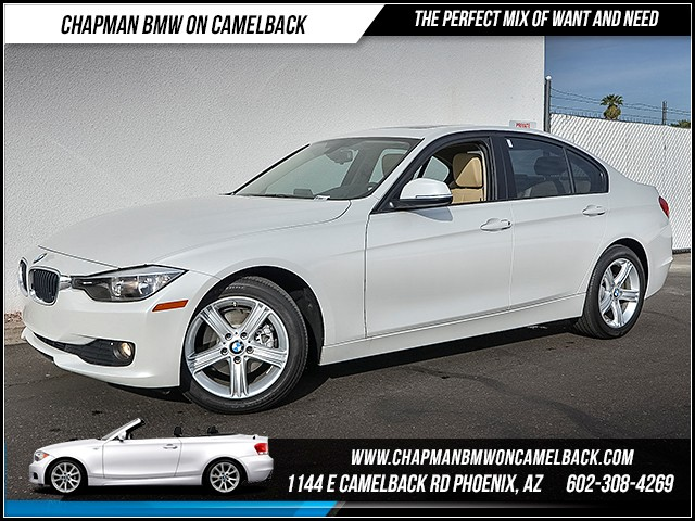 2015 BMW 3-Series Sdn 320i 18317 miles Premium Package Phone hands free Wireless data link Blue