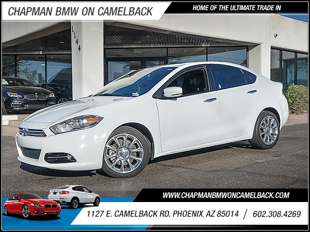 2015 Dodge Dart Limited 33195 miles Real time traffic Wireless data link Bluetooth Cruise contr