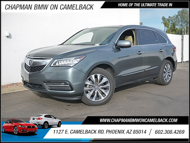2016 Acura MDX SH-AWD wTech 37349 miles 6023852286 Chapman Value Center in Phoenix speciali