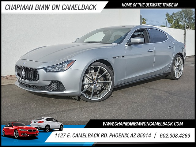 2014 Maserati Ghibli 35607 miles Wireless data link Bluetooth Cruise control Anti-theft system