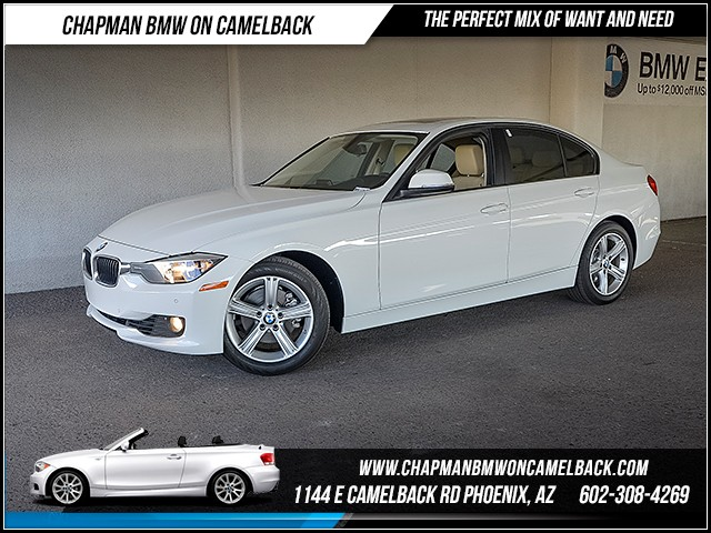2015 BMW 3-Series Sdn 328i 20653 miles Driving Assistance Package Moonroof Phone hands free Wi