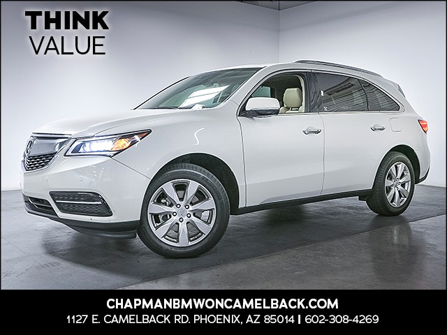 2016 Acura MDX wAdvance wRES 33748 miles Real time traffic Wireless data link Bluetooth Phone
