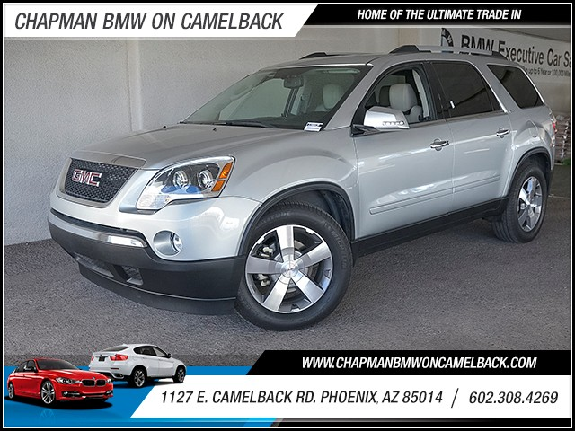 2011 GMC Acadia SLT 95180 miles 6023852286 Chapman Value Center in Phoenix specializing in l