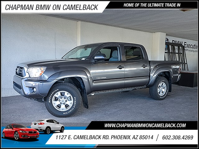 2015 Toyota Tacoma PreRunner V6 Crew Cab 18258 miles Wireless data link Bluetooth Phone hands fr