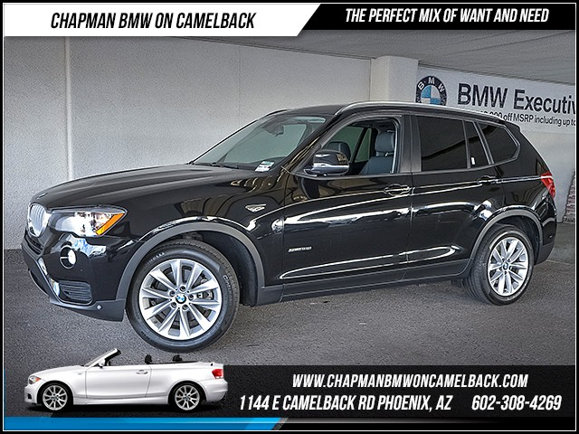 2015 BMW X3 sDrive28i 43277 miles 1127 E Camelback Rd 6023852286 Under Construction Sales Eve