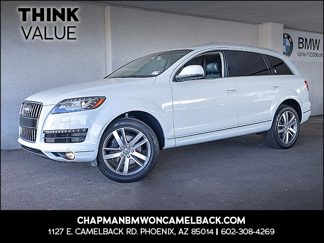 2014 Audi Q7 30 quattro TDI Prem Plus 54509 miles 6023852286 Chapman Value Center in Phoeni