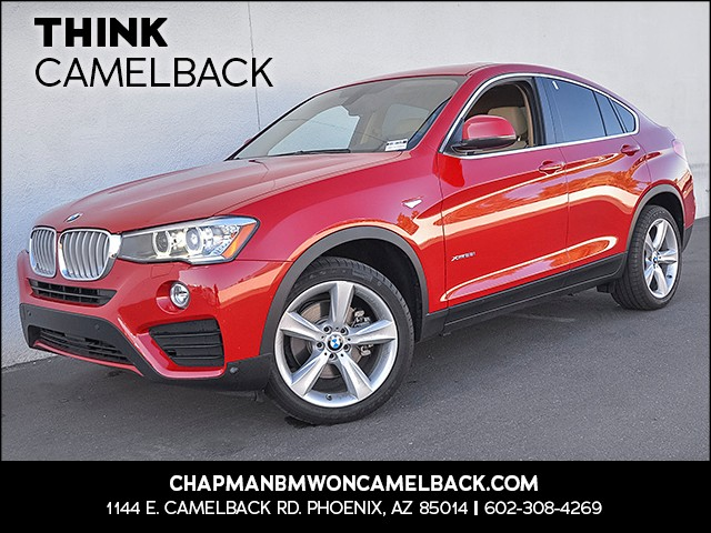 2016 BMW X4 xDrive28i 34722 miles 1144 E Camelback Rd 6023852286 Chapman BMW on Camelback is