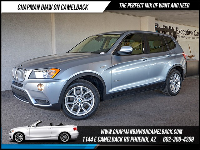2013 BMW X3 xDrive35i 61506 miles Premium Package Technology Package Heated front seats Wirele