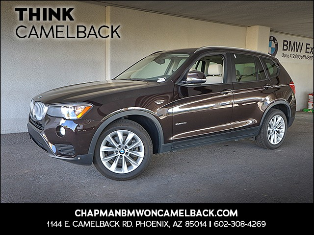 2015 BMW X3 xDrive28i 49350 miles 1127 E Camelback Rd 6023852286 Under Construction Sales Eve