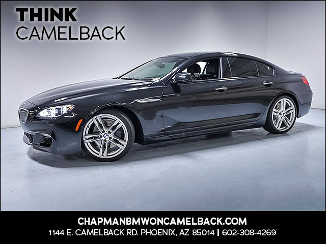 2015 BMW 6-Series 650i Gran Coupe 46876 miles Why Camelback Chapman BMW on Camelback uses real