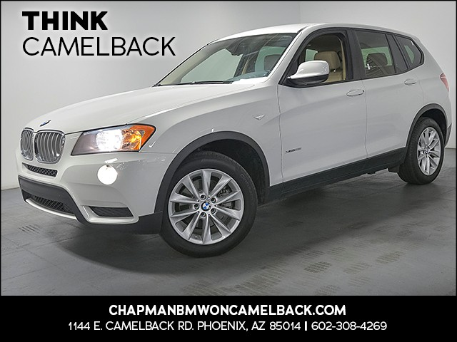2014 BMW X3 xDrive28i 48288 miles 1144 E Camelback Rd 6023852286 Chapman BMW on Camelback is