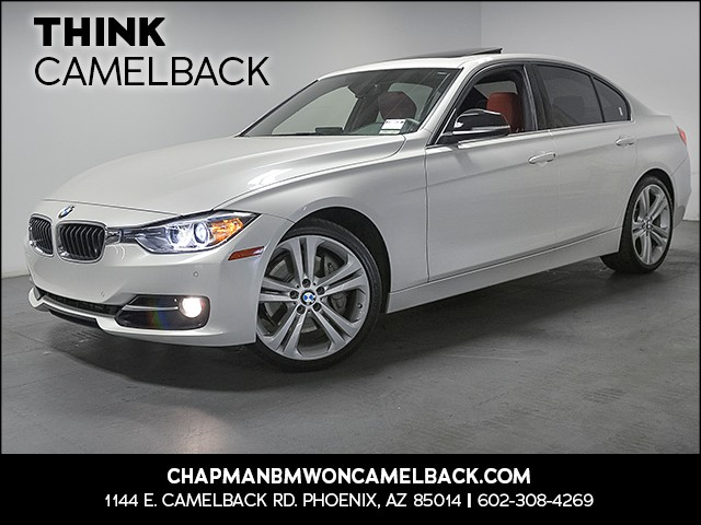 2015 BMW 3-Series Sdn 335i 36070 miles Sport Line Premium Package Driver As