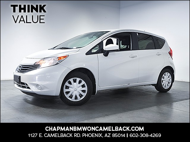 2015 Nissan Versa Note S 54351 miles Wireless data link Bluetooth Steering wheel tilt Rear wip