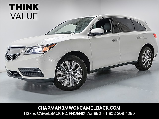 2016 Acura MDX SH-AWD wTech 23342 miles VIN 5FRYD4H45GB042695 For more information contact o