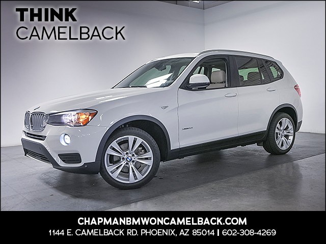 2016 BMW X3 xDrive28i 36773 miles Premium Package Technology Package Driving Assistance Package