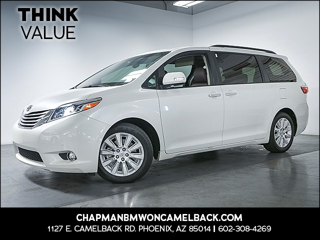2015 Toyota Sienna Limited Premium 7-Passenger 27872 miles Real time traffic Wireless data link