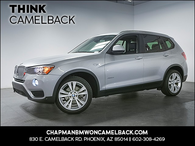 2016 BMW X3 sDrive28i 18352 miles 1144 E Camelback Rd 6023852286 Chapman BMW on Camelback is
