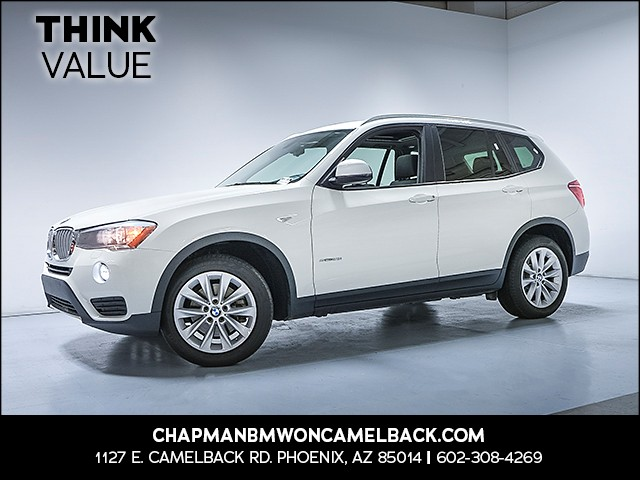 2016 BMW X3 sDrive28i 67155 miles Why Camelback Chapman BMW on Camelback uses real time market