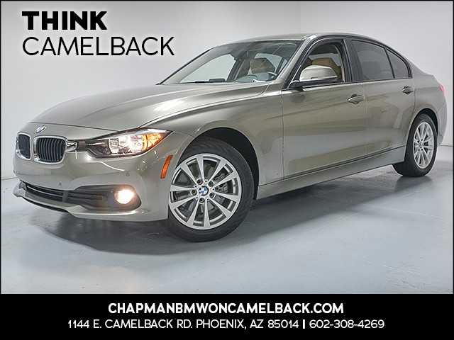 2017 BMW 3-Series Sdn 320i 9942 miles Why Camelback Chapman BMW on Camelback uses real time mar