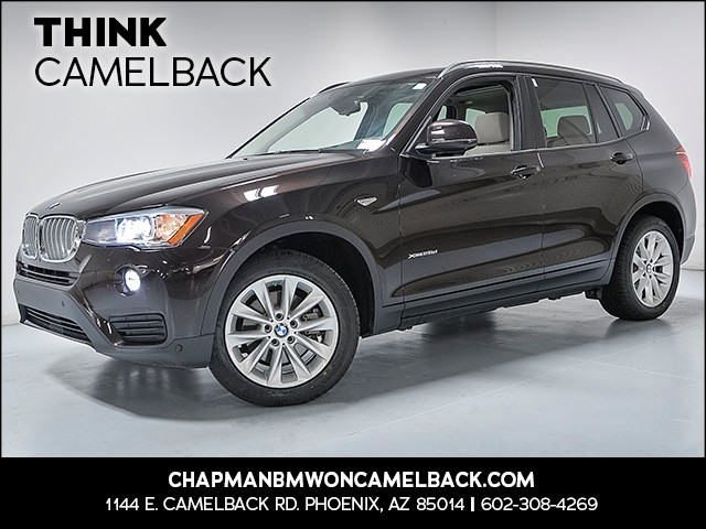 2016 BMW X3 xDrive28d 28727 miles Why Camelback Chapman BMW on Camelback is the Centrally locat