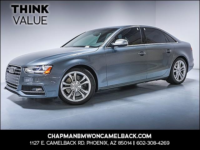 2013 Audi S4 30T quattro Prem Plus 68819 miles 6023852286 Chapman Value Center in Phoenix spe
