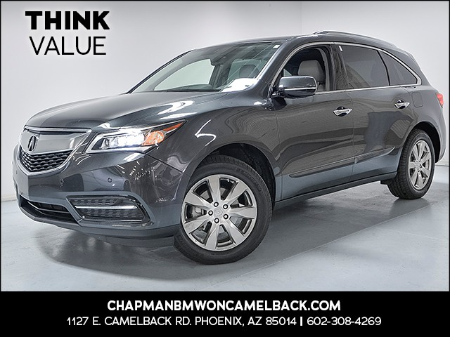 2014 Acura MDX SH-AWD wAdvance wRES 67362 miles VIN 5FRYD4H86EB007051 For more information