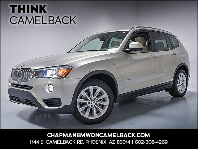 2016 BMW X3 xDrive28d 48395 miles Why Camelback Chapman BMW on Camelback is the Centrally locat